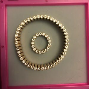 Swatch Bijoux Bracelet and Ring Rose gold and SS